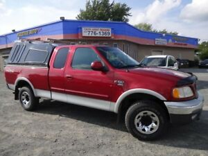 2001 Ford F-150 XLT V-8 TRITON7700 4X4 AUTOMATIQUE   6 PLACES PO