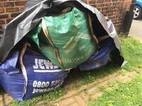 Good quality top soil 3 x 1000l bags