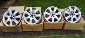 Toyota Avensis (Genuine) Set of 4 used alloy wheels.