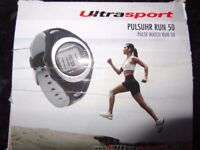 Ultrasport Heart Rate Monitor with Chest Strap Run 50/Mint Condition
