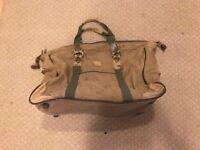Cream Carry bag Suitcase