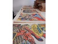 2000AD ft JUDGE DREDD Progs 151-824 (condition ranges from poor to good)