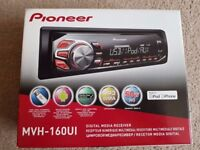 Pioneer MVH-160Ui Media Receiver with iPod/iPhone and Android Control