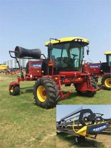 2014 New Holland Speedrower 200 Windrower/Swather w/440HB