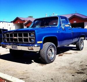 1982 CHEVY C/K 1500 VINTAGE 4x4 SQUARE BODY LIFTED
