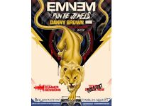2 Eminem Tickets + hotel Bellahouston Park 24th August PLUS overnight stay for 2 people