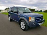 Land Rover Discovery 3 SE (Top Spec) 2.7 TDV6 Turbo Diesel Auto Big Spec Px Swap