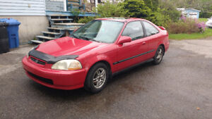 1997 Honda Civic si Coupé (2 portes)