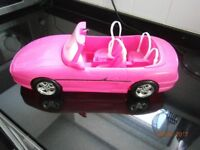 Vintage Barbie Sports Car