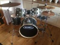 Mapex Drum kit with Zildjian Cymbals