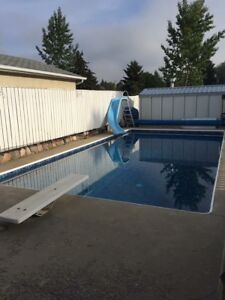 House for Sale with 16x32 In Ground Pool and Hot Tub