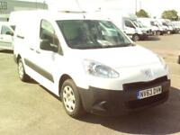Peugeot Partner L2 750 1.6 HDI 92BHP VAN L2 DIESEL MANUAL WHITE (2013)