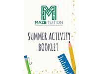 11 Plus Activity Booklet