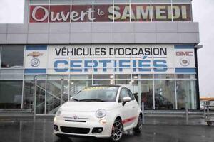 2012 Fiat 500 + TOIT OUVRANT+DEMARREUR A DISTANCE