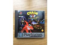 PlayStation 1 crash bandicoot boxed game. Ps1
