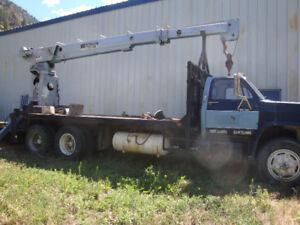 5 Ton GMC Crane truck