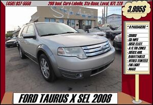 2008 Ford Taurus X SEL A/C CRUISE MP3