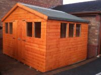 12ft x 10ft Shed New