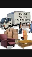 Careful Movers. Competitive Moving Rates