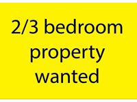 Wanted: 2/3 bedroom properties in Norwich