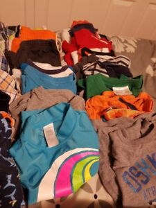 Lots of great boys kids clothes 70 items