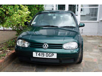 VW Golf GTI 1.8 Turbo, heated front seats, leather interior.