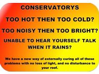 Stopping Heat & Noise In Your Conservatory