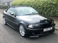 2002 BMW 320 2.2 Ci Sport Convertible Petrol Manual Cabriolet M3 Mirrors Leather M Sport Alloys