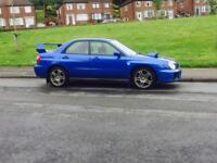 Subaru WRX TURBO MODIFIED 344 BHP NOT S3 gti evo Rx7 type r sti golf r vrs cupra