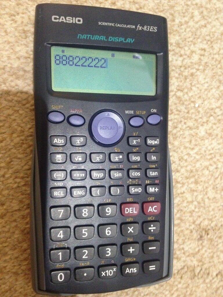 Scientific Calculator Casio fx83es, back to School