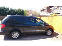 Chrysler Grand Voyager 2,5 CRD manual