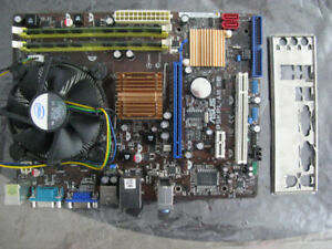 ASUS P5KPL-AM LE   Motherboard & Quad Core CPU,4g DDR2