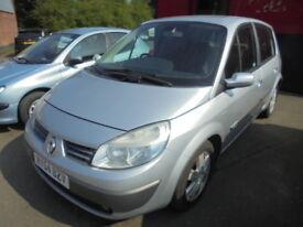 Renault Scenic 1.6 VVT 115 DYNAMIQUE, LOW MILES (silver) 2005