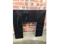 HEARTH AND FIRE PLACE BACK