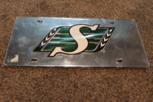 Saskatchewan Roughriders License Plate Official Quality Rider*