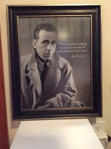Humphrey Bogart,  photo & autographe  photo