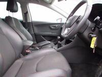 SEAT LEON 2.0 TDI FR 5d 150 BHP (silver) 2014