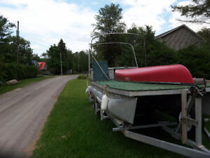 Barge and Trailer for Sale or Trade