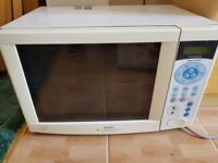 SANYO FAN ASSISTED OVEN MICROWAVE 1200W WHITE