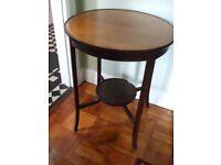 Antique inlaid round table