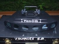 ACME VENOM LED MULTI LIGHT EFFECT -VERY BRIGHT, EXCELLENT PRO LIGHTING EFFECT
