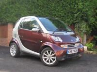 2007 Smart ForTwo PASSION, RUBY RED - PAN ROOF