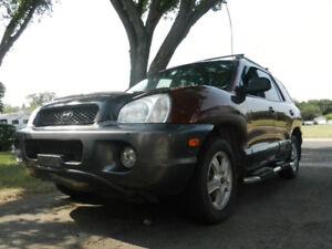 2003 Hyundai Santa Fe SUV, Crossover