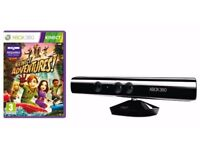 Xbox 360 Kinect with a Game