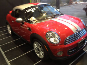 Rare Beauty - Mini Cooper Coupe INCL Mini Winter Tires/Mini Rims
