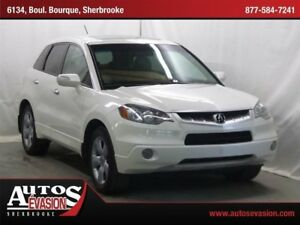 2008 Acura RDX SH-AWD + CUIR + TOIT + SHIFT PADDLE