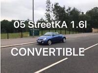 Convertible 2005 Ford StreetKa 1.6l* £750 *like astra megane CC Golf a1 a3 307