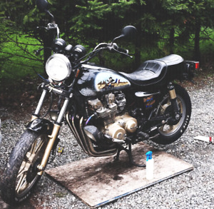 Awesome project bike: 82' kawasaki kz1100 spectre