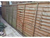 3 Fence Panels Free of Charge (for collection only)