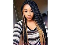 Hair braids, Box braids or Hair Extensions